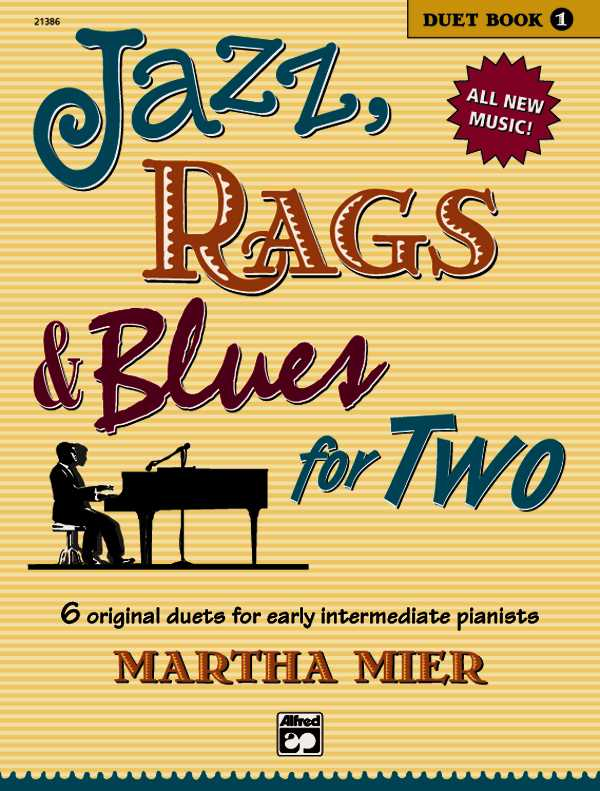 Jazz, Rags & Blues for Two By Mier, Martha (COP)